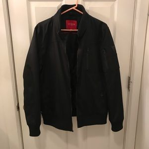 NEW Men's Guess Black Bomber Size M